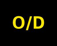 O/D指示灯图标