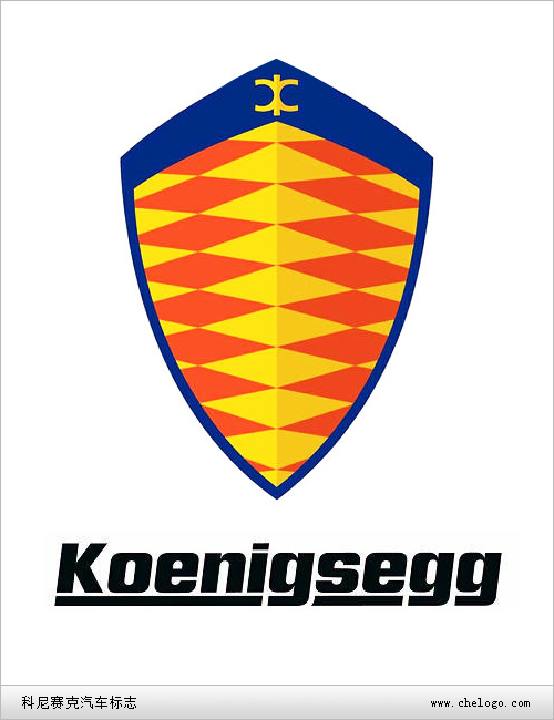 科尼赛克汽车标志图片