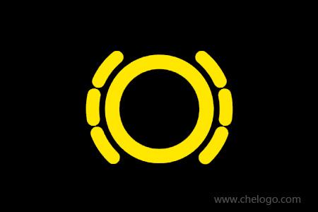 国产汽车音响喇叭_刹车盘指示灯图标_仪表盘刹车盘灯亮_刹车盘灯标志 - 车标网