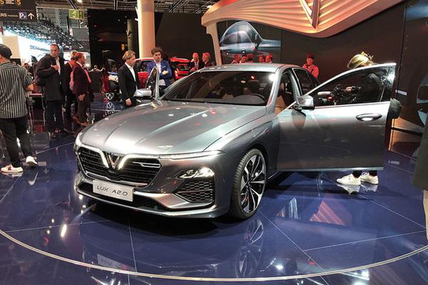 越南首个汽车品牌VinFaset亮相 这颜值要逆天